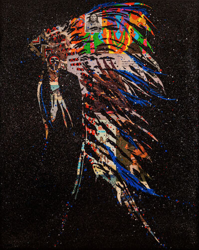 John Joseph Hanright, 'Ghost of the American Chief', 2021