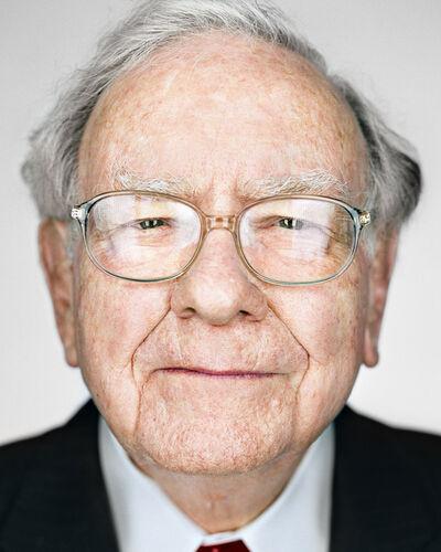 Martin Schoeller, 'Warren Buffett', 2016