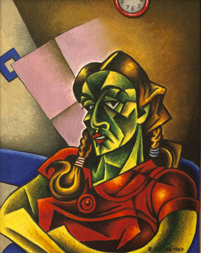 R. Crumb, 'Green Girl', 1980