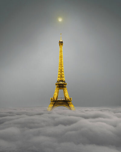Minjin-Mijoo, 'Eiffel Tower', 2021
