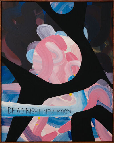 Senon Williams, 'Untitled (Dead Night New Moon)', 2020