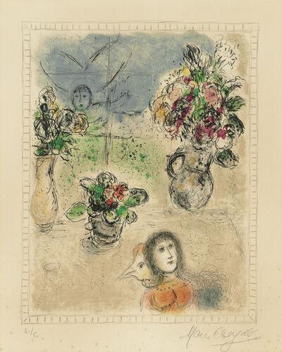 Marc Chagall, 'Les trois bouquets', 1976