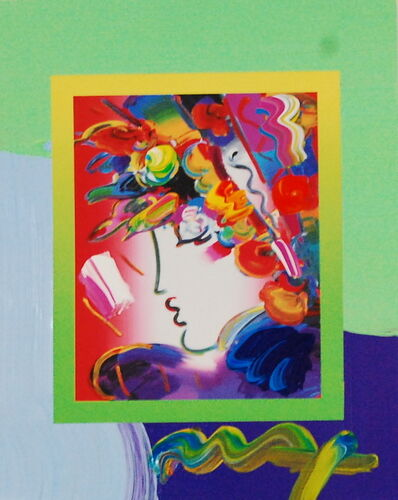 Peter Max, 'Blushing Beauty on Blends 2007 #2266', 2007