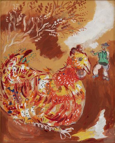Marc Chagall, 'La poule aux oeufs d'or (Fable de la Fontaine)', 1927