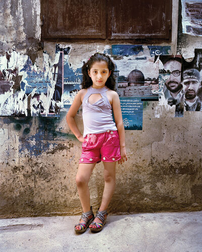 Rania Matar, 'Dania, 9', 2012