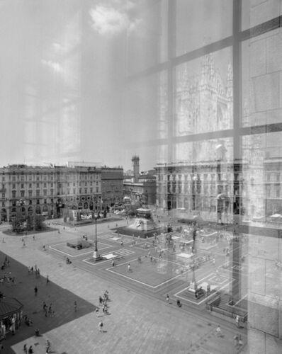 Niccolò Biddau, 'Piazza Duomo, Milano', 2015