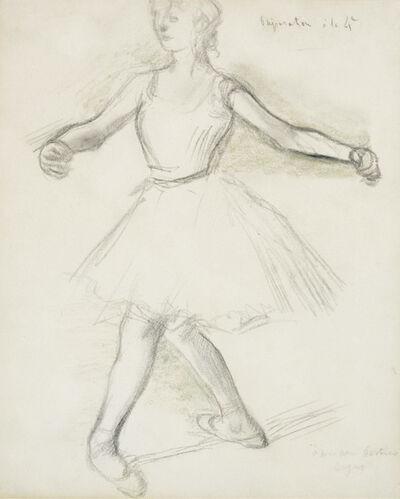 Edgar Degas, 'Préparation à la quatrième', 1880