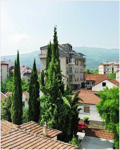 Edmund Clark, 'View from a Window, Room 11, Skopski Merak hotel, Skopje', 2016