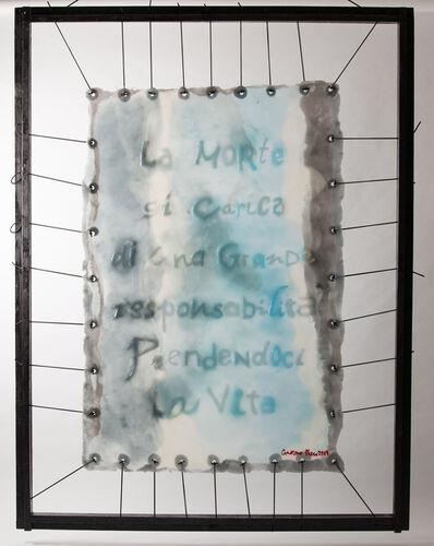 Gaetano Pesce, 'Skin Frasi sepolte/morte ', 2016