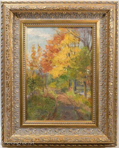 George W. Picknell, 'Autumn Landscape', ca. 1920