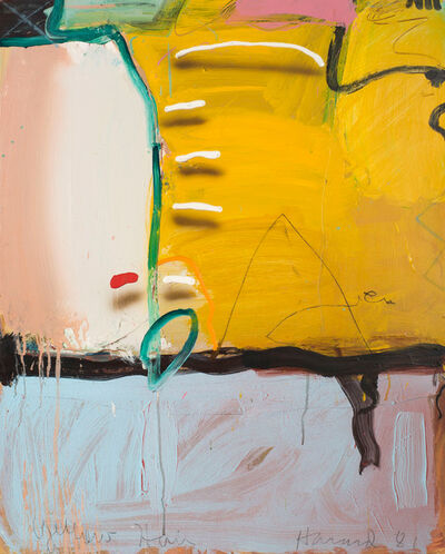 James Havard, 'Yellow Hair', 1981