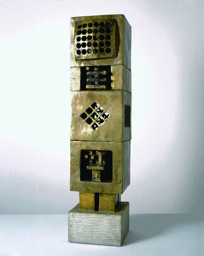 Parviz Tanavoli, ' We Are Happy Locked Within Holes', 1970