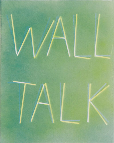 Scott Reeder, 'Untitled (Wall Talk)', 2012