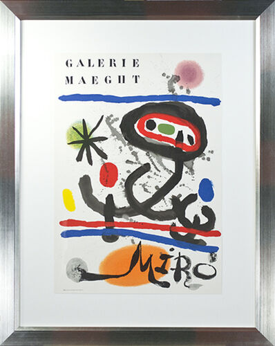 Joan Miró, 'Galerie Maeght Miro Š Maeght Editeur Imprimeur', 1956