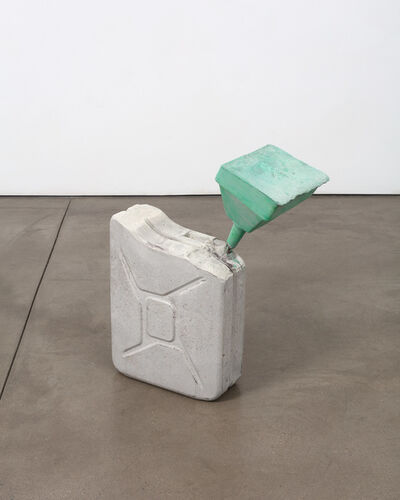 Matias Faldbakken, 'FUEL SCULPTURE GREEN', 2017