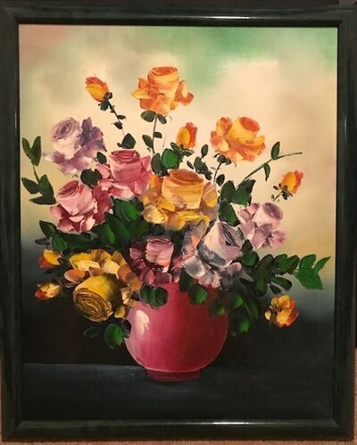 Lionel Barrymore, 'Still life in a Pink Vase', 20th Century