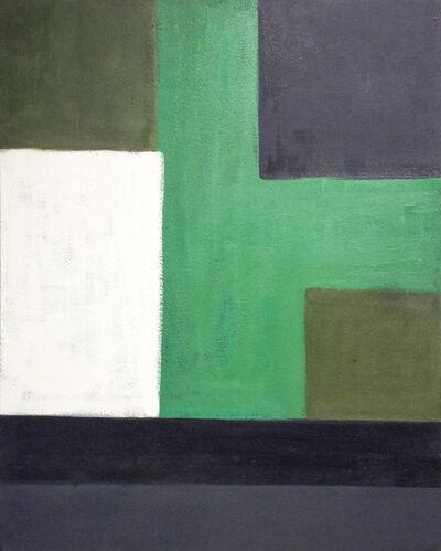 Christopher Engel, 'Study: Green, Black, White', 2007