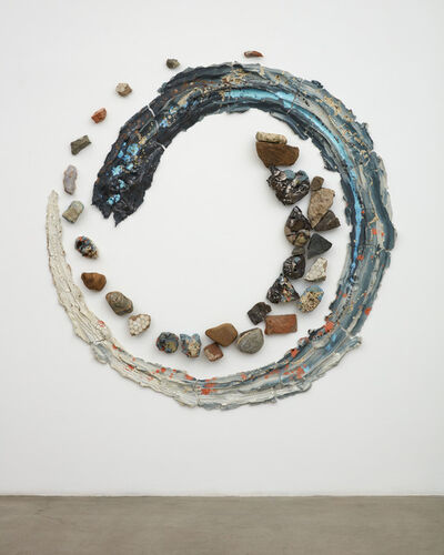 Brie Ruais, 'Turning Over, 128lbs of clay and another of rocks and rubble', 2020