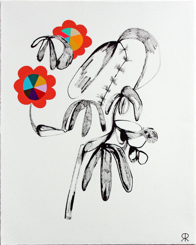 Rebeca Raney, 'Flower Drawing #3', 2013