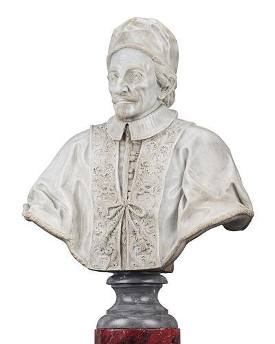 Domenico Guidi, 'Bust of Pope Innocent XI Odescalchi', ca. 1690
