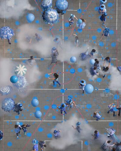 Katrin Korfmann, 'Blauwe Bloem', 2015