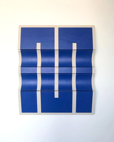 Robert William Moreland, 'Untitled Blue Segment ', 2019