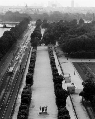 Jean-Christophe BALLOT, 'Louvre, Depois le toit du pavillon de Flore, Paris', 2001