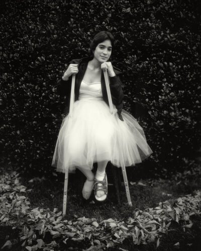 "Sally Mann, 'Untitled from the ""At Twelve"" Series, Debbie's Broken Foot', 1983-1985"