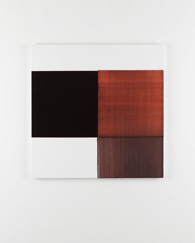 Callum Innes, 'Exposed Painting Crimson Lake', 2015