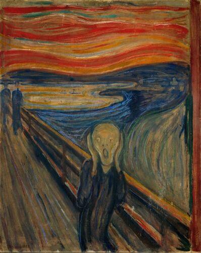 Edvard Munch, 'The Scream', 1893