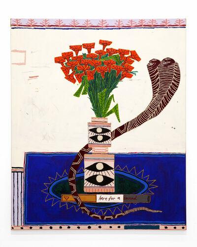 Jordan Kerwick, 'Snake avec Flowers', 2020