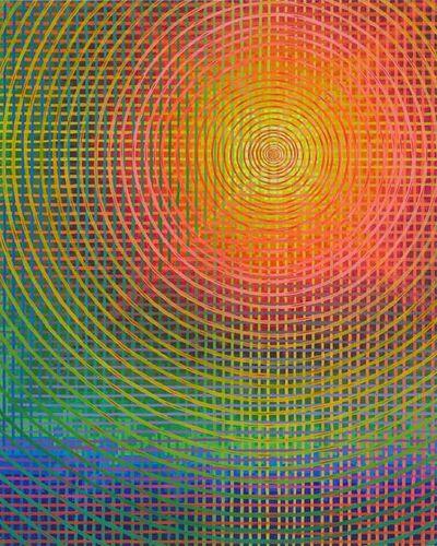 Andrew Schoultz, 'Overwhelming Color Grid', 2020
