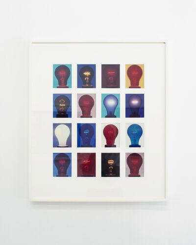 Amanda Means, '4 x 5 Color Light Bulb Grid II', 2007
