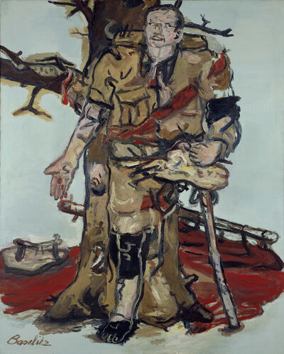 Georg Baselitz, 'Blocked Painter', 1965