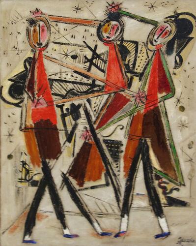Benjamín Palencia, 'Tres figuras', 1932