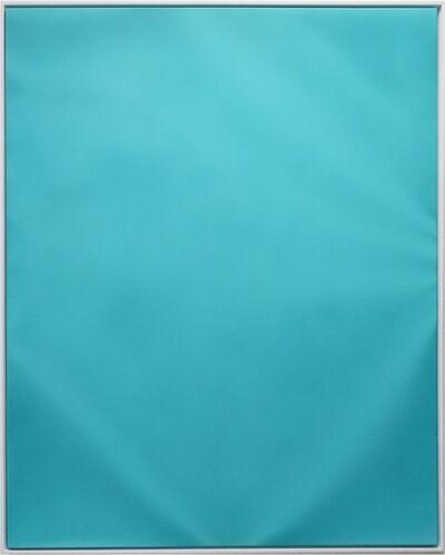Lieven Hendriks, 'Turquoise (Ruffled series)', 2018