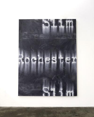 Gary Simmons, 'Slim Rochester Slim', 2018