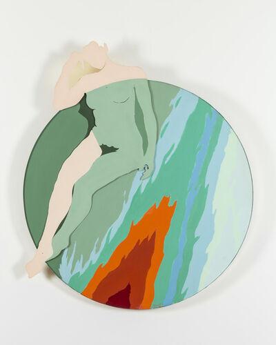 Evelyne Axell, 'La fille de feu', ca. 1967