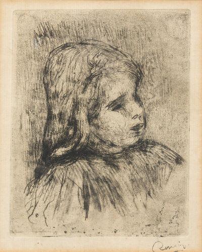 Pierre-Auguste Renoir, 'Claude Renoir, de trois-quarts a droite', 1908