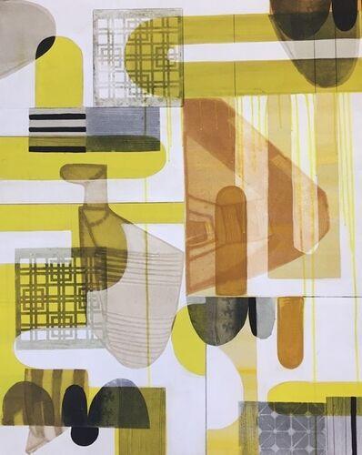 Sarah Amos, 'Long Thread', 2019