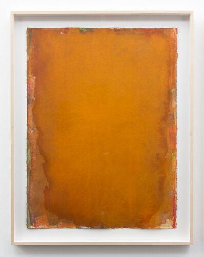 Peter Tollens, 'Orange Rot Grün Ocker Orange', 2017
