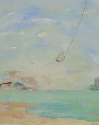 Thomas Frontini, 'Coastal Scene with Butterfly  ', 2018