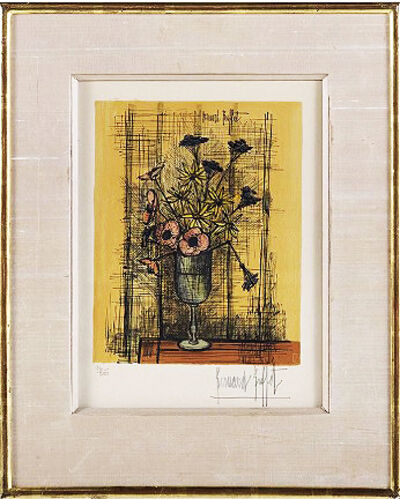 Bernard Buffet, 'Still Life With Flowers'