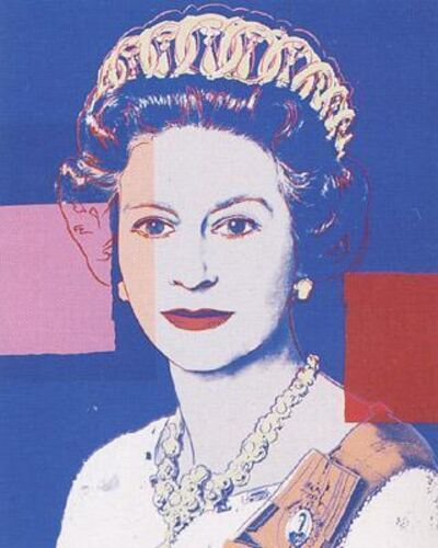 Andy Warhol, 'Queen Elizabeth II of the United Kingdom', 1985