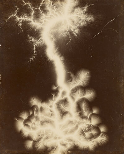 Unknown Artist, 'Miniature Lightning Show', 1895