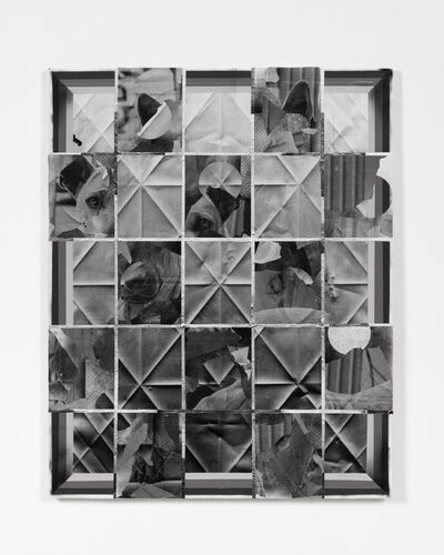 Jason Deary, 'Broken Window, Caged Mirror', 2021