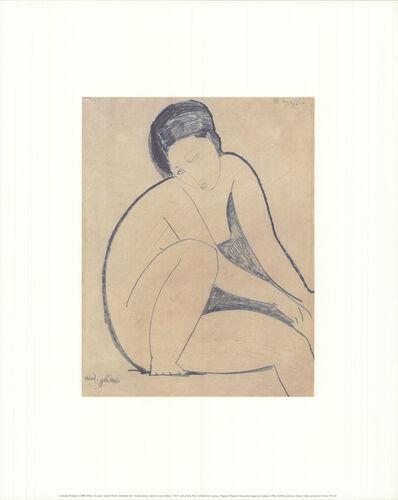 Amedeo Modigliani, 'Seated Nude', 1995