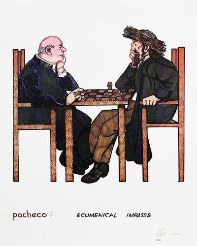 Ferdie Pacheco, 'ECUMENICAL IMPASSE (JUDAICA ART)', 1979