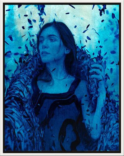 Brad Reuben Kunkle, 'Wanderer in Blue', 2020