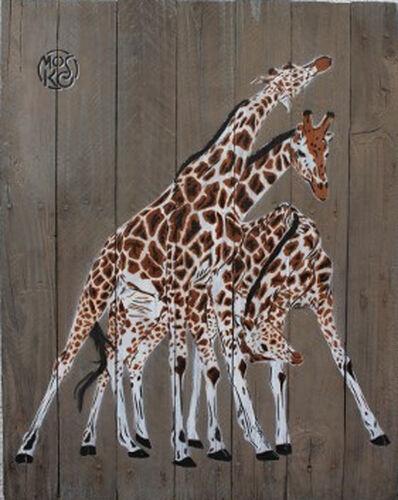 Mosko, '3 girafes', 2018